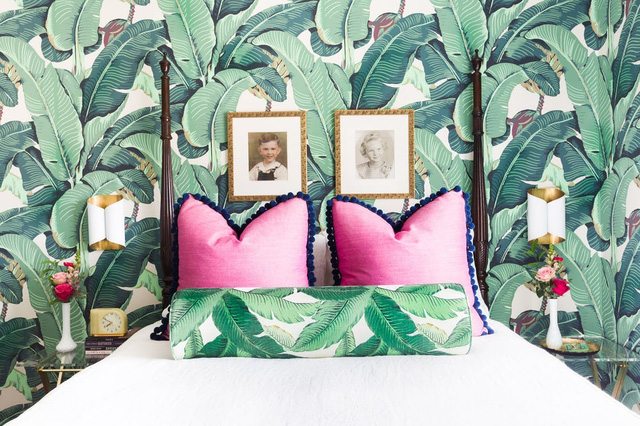 Tạo điểm nhấn nổi bật cho không gian trong nhà bằng màu xanh lá dịu mát - ảnh 13