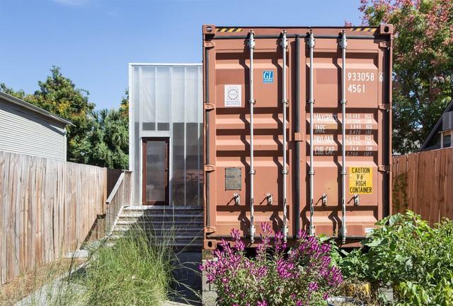 Ấn tượng nhà container có khoảng sân nhỏ - Ảnh 13.