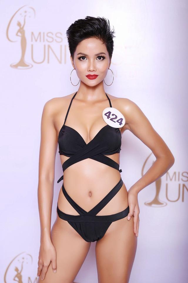 Ngắm vẻ đẹp khó cưỡng của bóng hồng Ê Đê trong Tôi là Hoa hậu Hoàn vũ Việt Nam 2017 - Ảnh 5.