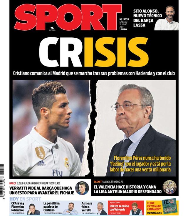 Báo chí châu Âu chấn động với việc Ronaldo đòi rời Real - Ảnh 3.