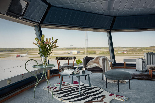 Độc đáo căn hộ mini hiện đại nằm ngay trong... sân bay - Ảnh 3.