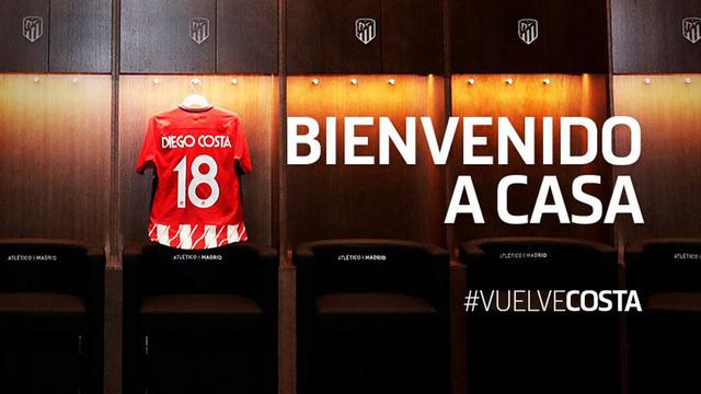 Diego Costa chính thức thoát nợ Chelsea để trở về Atletico - Ảnh 1.