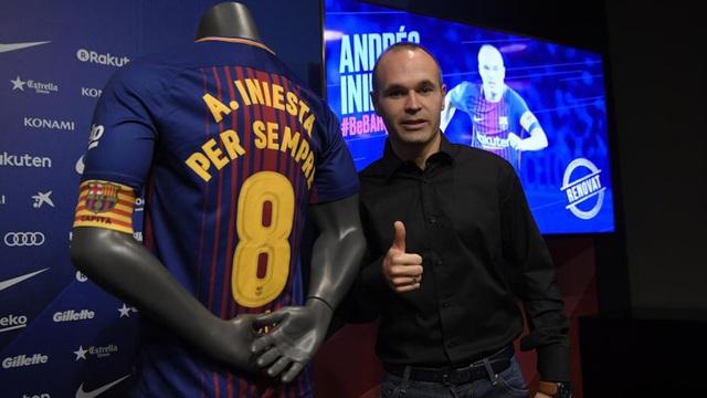 Ký hợp đồng trọn đời, Iniesta quyết cống hiến đến sức cùng lực kiệt cho Barcelona - Ảnh 1.