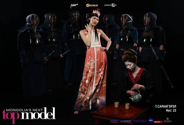 Top Model Mông Cổ ấn tượng ngay từ mùa đầu nhờ concept ảnh siêu độc - Ảnh 2.