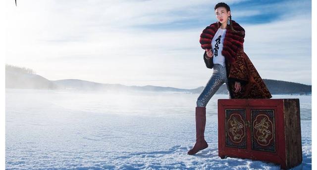 Top Model Mông Cổ ấn tượng ngay từ mùa đầu nhờ concept ảnh siêu độc - Ảnh 9.