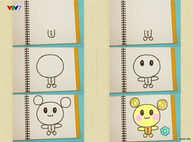Rinh quà liền tay với cuộc thi vẽ các nhân vật đáng yêu của Ú Òa trên VTV7 - Ảnh 2.