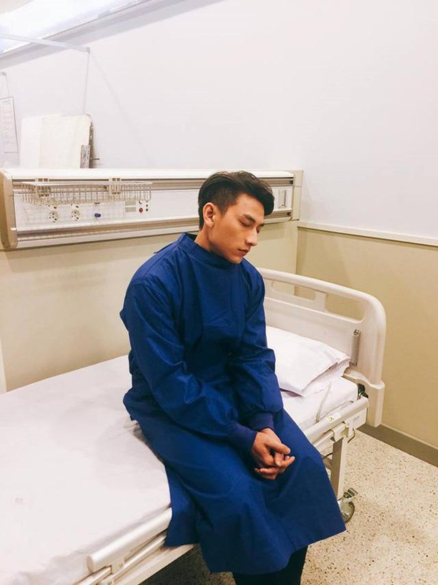 Kiệt sức vì giá lạnh, Isaac phải nhập viện tại Hàn Quốc - Ảnh 1.