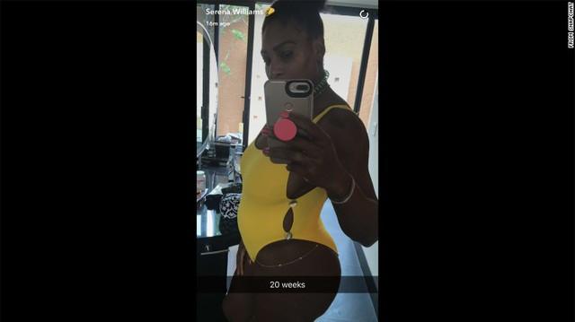 Serena Williams xác nhận mang bầu trước khi vô địch Australian Open 2017 - Ảnh 1.