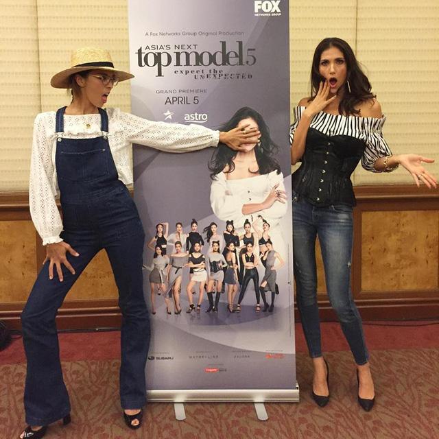 Giám khảo Asias Next Top Model quậy không kém phần thí sinh - Ảnh 11.