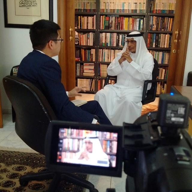 Trò chuyện với phóng viên thường trú đầu tiên của VTV ở khu vực Trung Đông - Ảnh 2.