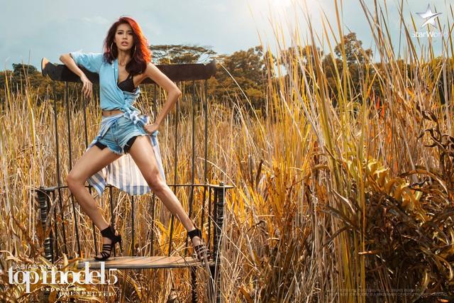 Lột xác với tóc mới, Minh Tú có bước tiến ngoạn mục ở Asias Next Top Model - Ảnh 1.