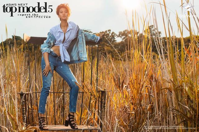 Lột xác với tóc mới, Minh Tú có bước tiến ngoạn mục ở Asias Next Top Model - Ảnh 6.