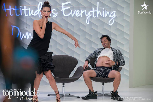 Giám khảo Asias Next Top Model quậy không kém phần thí sinh - Ảnh 5.