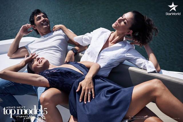 Giám khảo Asias Next Top Model quậy không kém phần thí sinh - Ảnh 3.