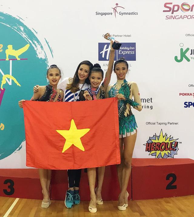 Thể dục nghệ thuật: Nguyễn Hà My giành HCV trẻ Đông Nam Á - Ảnh 1.