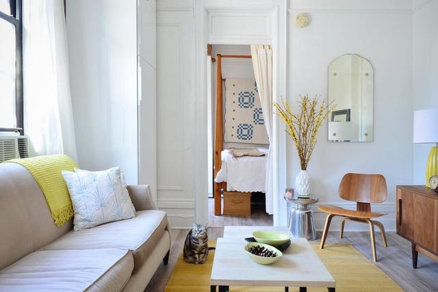 Căn hộ hơn 30 m2 có không gian đánh lừa thị giác - Ảnh 2.