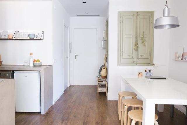 Thích mê không gian trong căn hộ mang phong cách tối giản - Ảnh 1.