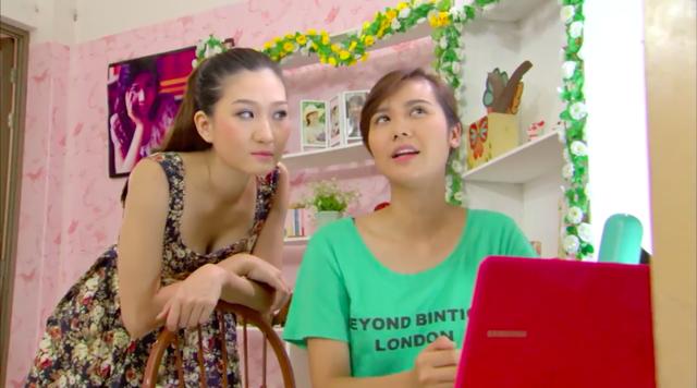 Phim Giao mùa - Tập 41: Vì ghen tị, Hòa (Thanh Huyền) chơi xấu Mai (Huyền Lizzie) - Ảnh 1.