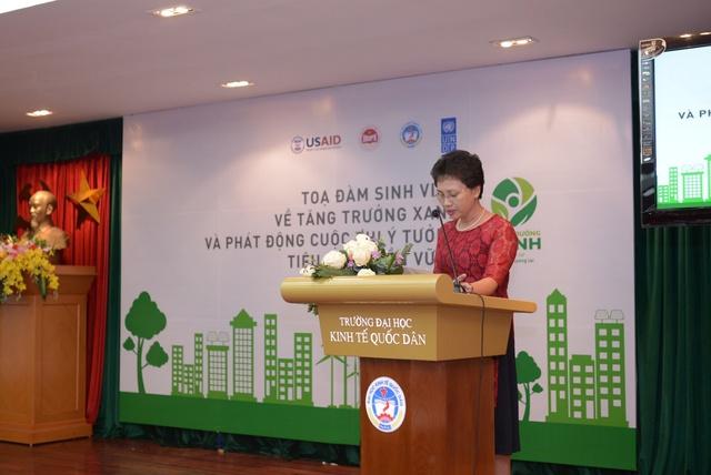 """Sinh viên cả nước tham gia đóng góp ý tưởng """"Phát triển bền vững"""" - Ảnh 2."""