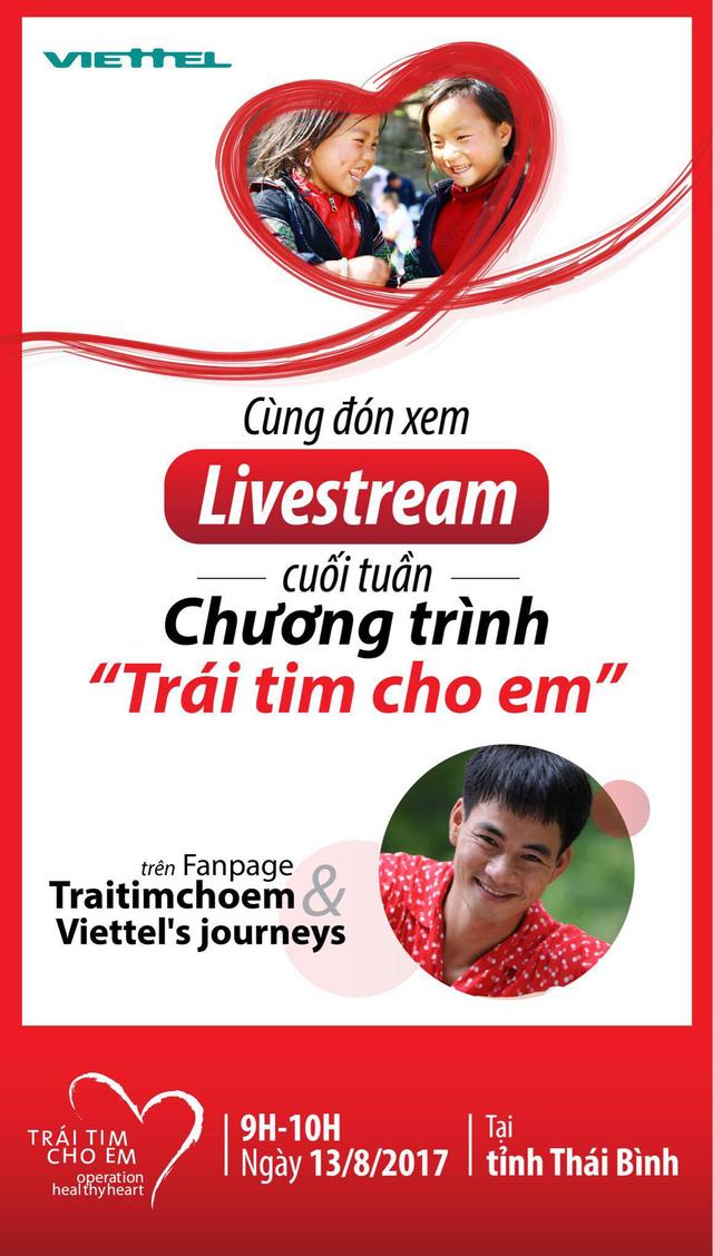Livestream chương trình Trái tim cho em: Khám sàng lọc tim bẩm sinh tại Thái Bình - ảnh 1