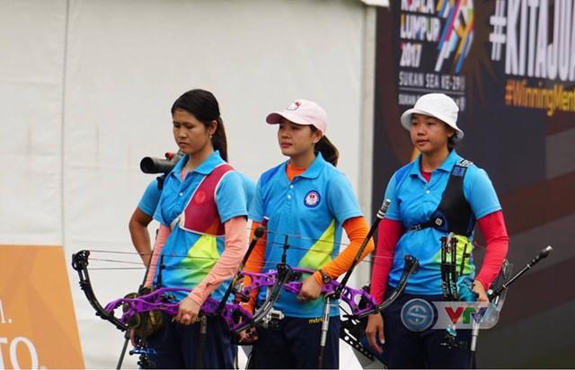 SEA Games 29: Bắn cung Việt Nam để vuột HCV đáng tiếc - Ảnh 1.
