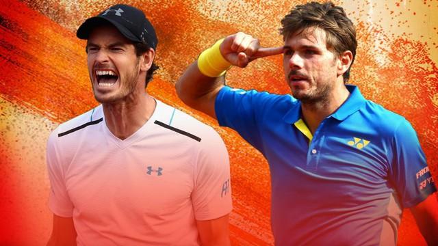 Lịch thi đấu bán kết Pháp mở rộng 2017 ngày 9/6: Nadal đối đầu Thiem, Murray đại chiến Wawrinka - Ảnh 1.