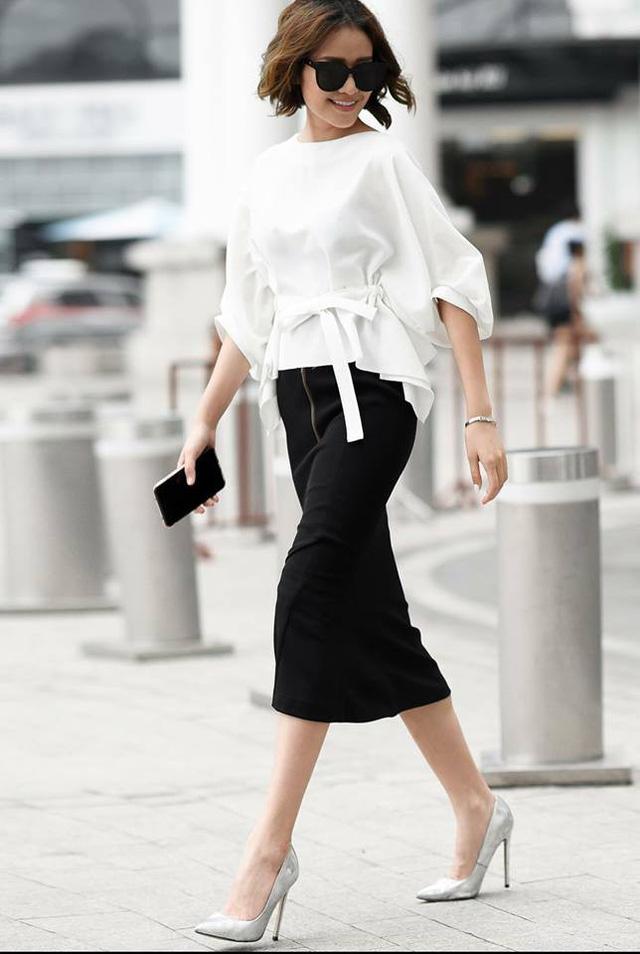 MC Phí Linh biến hóa với phong cách thời trang đa dạng và chất lừ - Ảnh 1.