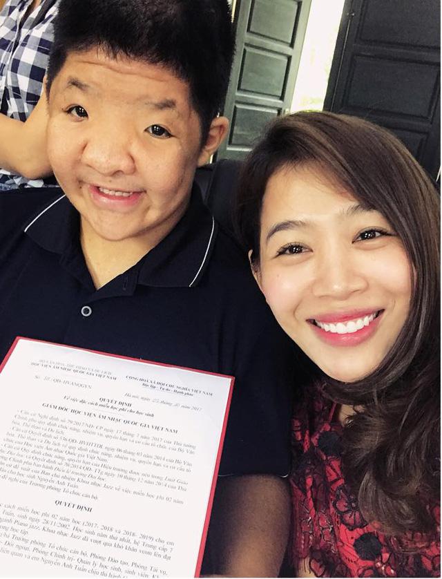Con trai diễn viên Quốc Tuấn nhận học bổng của Nhạc viện: Đoạn kết có hậu của Điều ước thứ 7 - Ảnh 2.