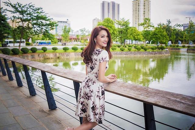 Ngắm nhan sắc người đẹp Hoa hậu Hoàn vũ Việt Nam 2017 bị mắng vì không trung thực - Ảnh 4.