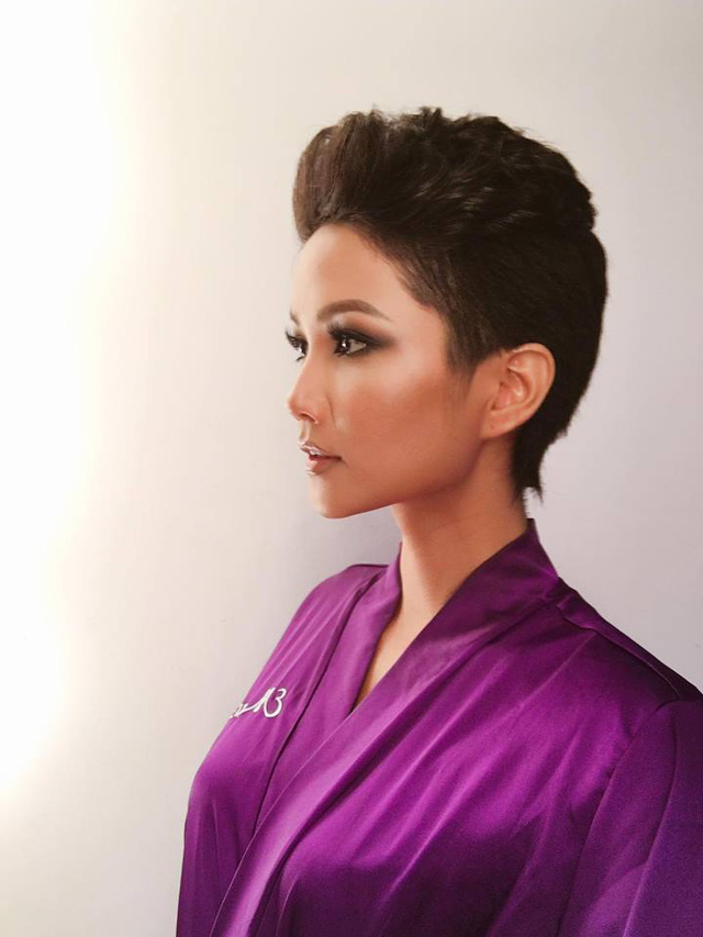 Ngắm vẻ đẹp khó cưỡng của bóng hồng Ê Đê trong Tôi là Hoa hậu Hoàn vũ Việt Nam 2017 - Ảnh 3.