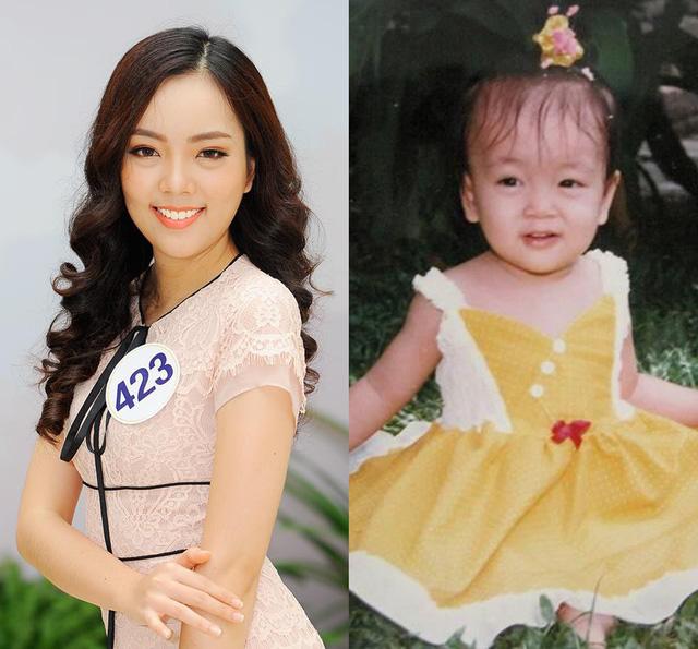 Loạt ảnh dậy thì thành công của người đẹp Hoa hậu Hoàn vũ Việt Nam 2017 - Ảnh 11.