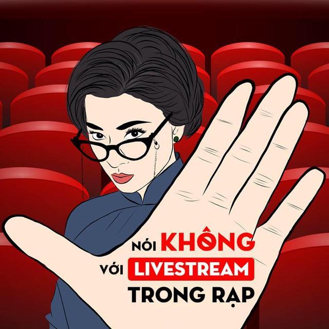 Ngô Thanh Vân kêu gọi tẩy chay livestream trong rạp sau sự việc của Cô Ba Sài Gòn - Ảnh 1.