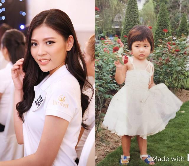 Loạt ảnh dậy thì thành công của người đẹp Hoa hậu Hoàn vũ Việt Nam 2017 - Ảnh 2.