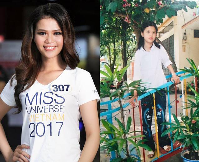 Loạt ảnh dậy thì thành công của người đẹp Hoa hậu Hoàn vũ Việt Nam 2017 - Ảnh 6.