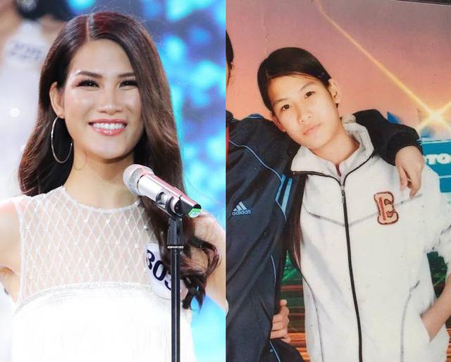 Loạt ảnh dậy thì thành công của người đẹp Hoa hậu Hoàn vũ Việt Nam 2017 - Ảnh 9.