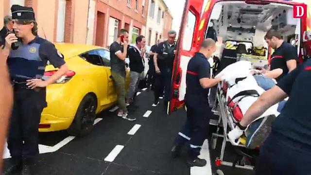 Đâm xe tại Toulouse (Pháp), 3 người bị thương - Ảnh 1.