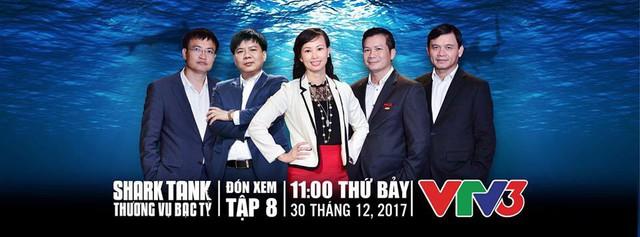 Shark Tank Việt Nam - Tập 8: Xuất hiện Shark mới thay thế Shark nữ xinh đẹp Hoàng Phi - Ảnh 2.