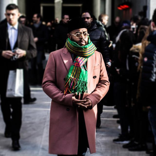 Mê hoặc thời trang thanh lịch trên đường phố Milan - Ảnh 8.