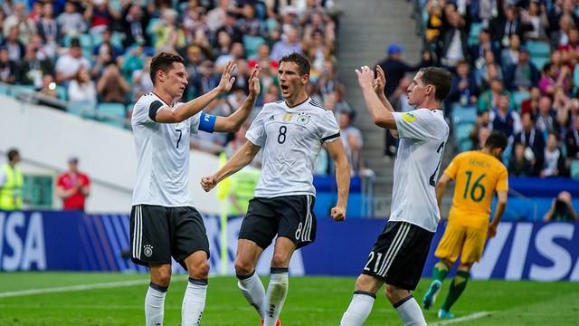 Cúp Liên đoàn các châu lục 2017, ĐT Australia 2-3 ĐT Đức : Rượt đuổi tỷ số hấp dẫn - Ảnh 1.