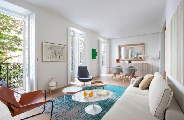 Mẫu thiết kế căn hộ nhỏ hiện đại, màu sắc tươi sáng - Ảnh 2.