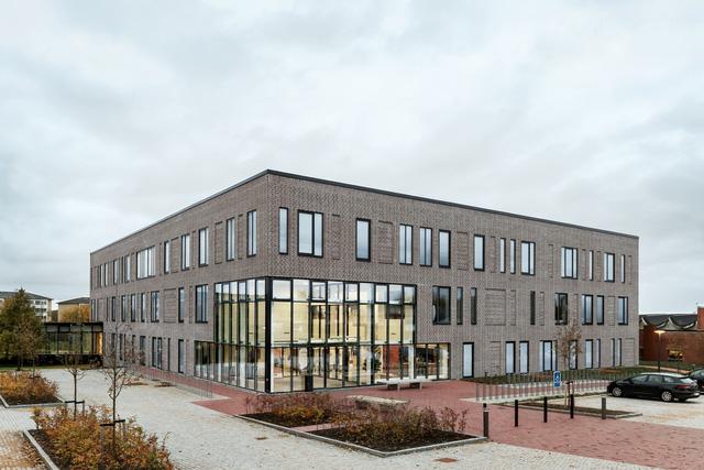 Không gian ấn tượng của trường đại học ở Đan Mạch - Ảnh 3.