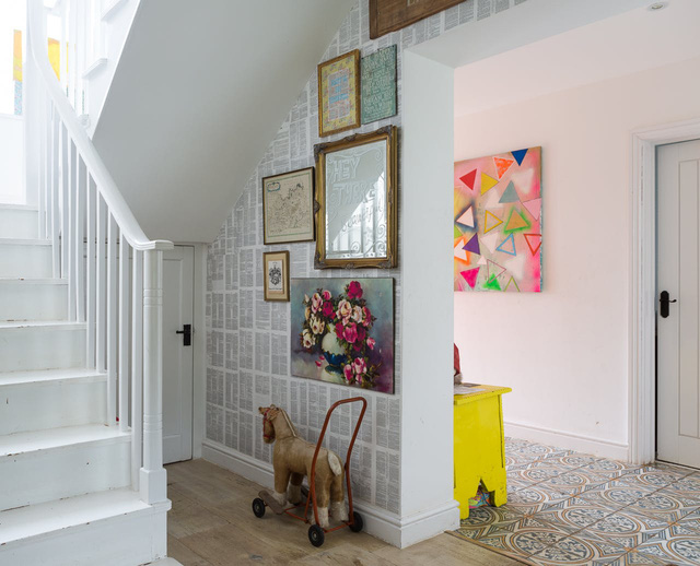 Ngôi nhà có không gian đầy rẫy họa tiết ấn tượng - Ảnh 3.