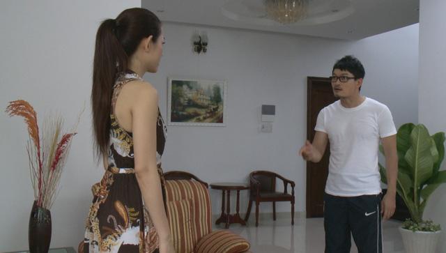 Phim Vực thẳm vô hình - Tập 24: Qua lại với phụ nữ đã có chồng, Lanh (Hoàng Anh) bị đánh ghen tơi bời - Ảnh 1.