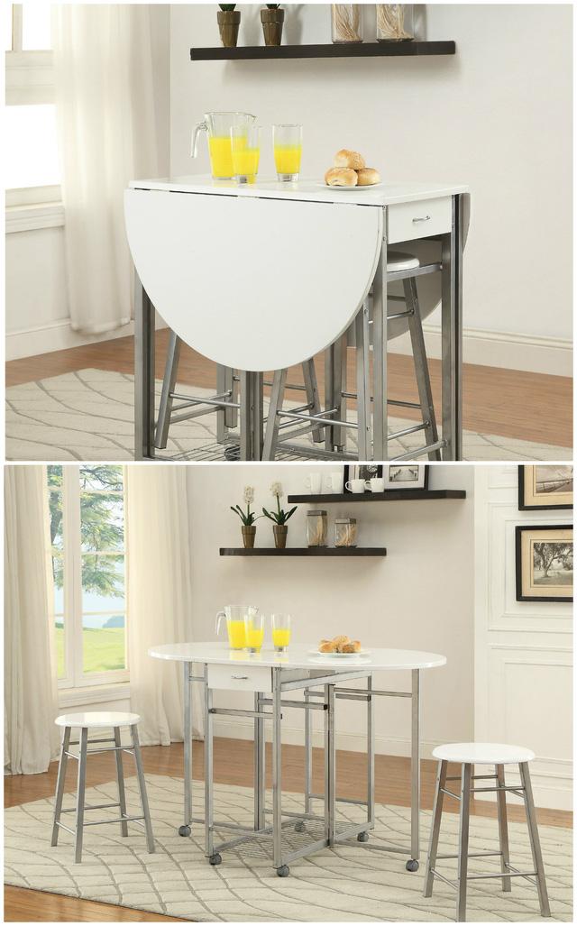 Ý tưởng đưa những bộ bàn ăn độc đáo vào không gian nhỏ hẹp - Ảnh 11.