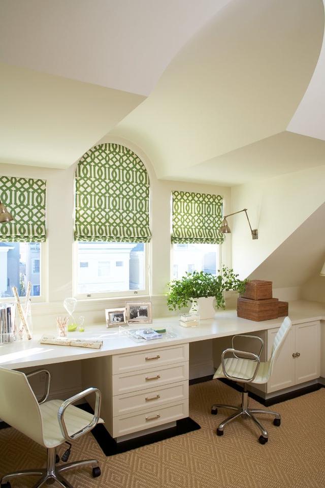 Tạo điểm nhấn nổi bật cho không gian trong nhà bằng màu xanh lá dịu mát - ảnh 12