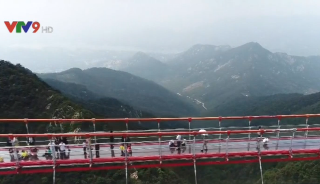 Chiêm ngưỡng cầu treo đi bộ dài nhất thế giới  - Ảnh 3.