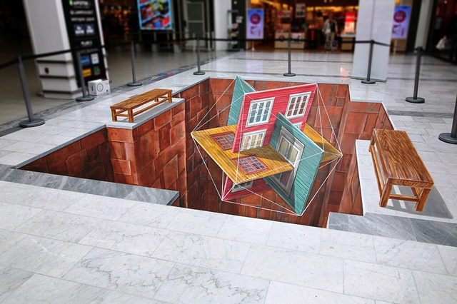Nghệ thuật 3D trên đường phố - Ảnh 4.