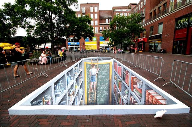 Nghệ thuật 3D trên đường phố - Ảnh 2.