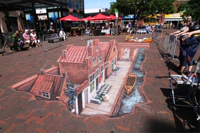 Nghệ thuật 3D trên đường phố - Ảnh 11.