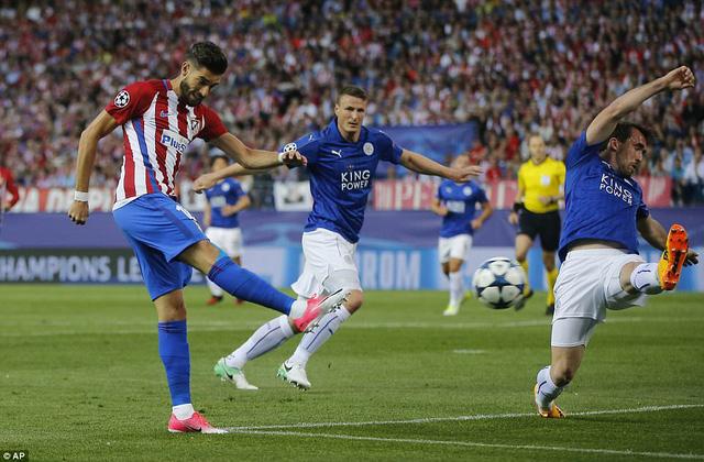 Atl Madrid 1-0 Leicester City: Griezmann lập công, Atl Madrid giành lợi thế trước trận lượt về - Ảnh 3.
